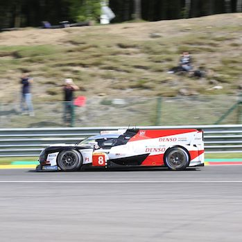 #8 Toyota TS050 Hybrid at the FIA WEC 6 Hours of Spa-Francorchamps 2018