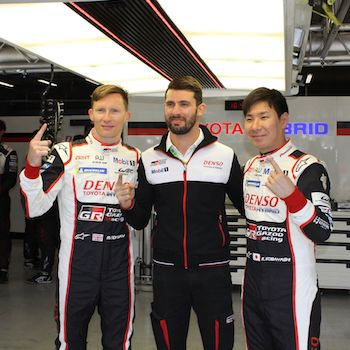 Toyota on pole for Six Hours of Spa