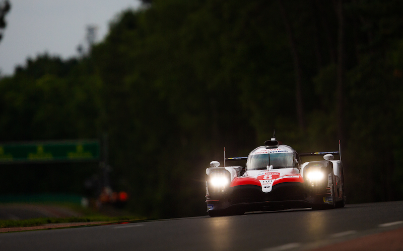 Toyota TS050 Hybrid #8 lets until the end of the race