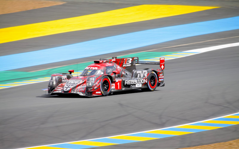 The Rebellion R13 finished the 24 Hours of Le Mans
