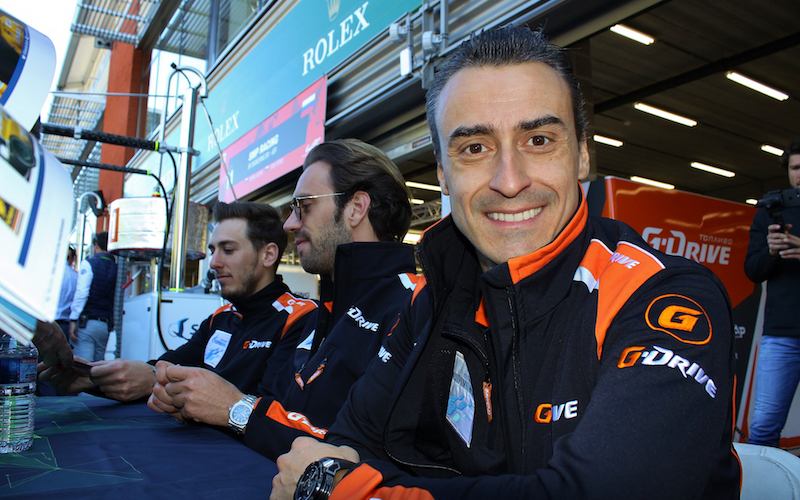 Roman Rusinov and G-Drive Racing wins in the LMP2 class