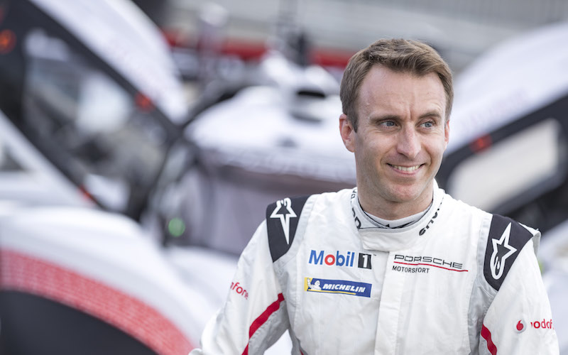 Timo Bernhard driving the Porsche 919 Hybrid Evo at the Nordschleife