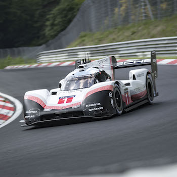 Porsche #919tribute breaks Nordschleife record