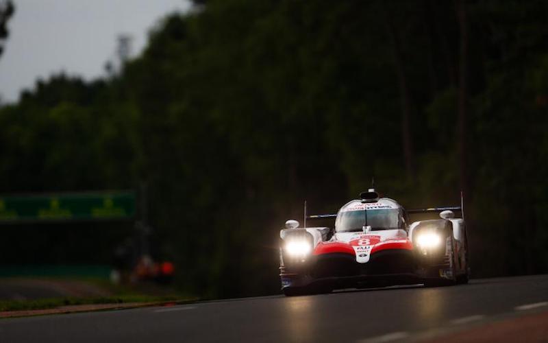 Qualifying: #8 Toyota TS050 Hybrid of Fernando Alonso, Kazuki Nakajima and Sébastien Buemi