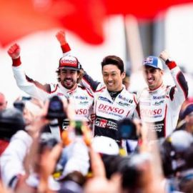 Fernando Alonso, Sébastien Buemi and Kazuki Nakajima extend championship lead after winning the 2018 24 Hours of Le Mans