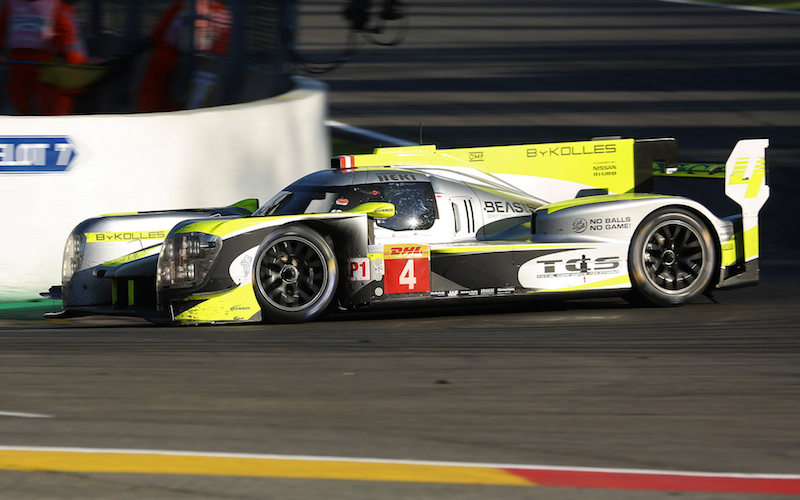#4 ByKolles Racing ENSO CLM P1/01 at the 6 Hours of Spa-Francorchamps in the 2018 FIA World Endurance Championship