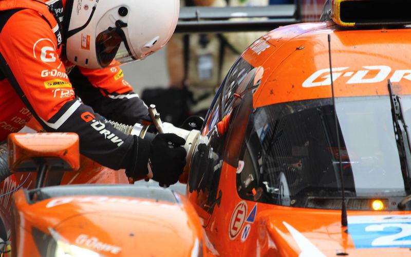 LMP2: #26 G-Drive Racing Oreca 07 refuelling
