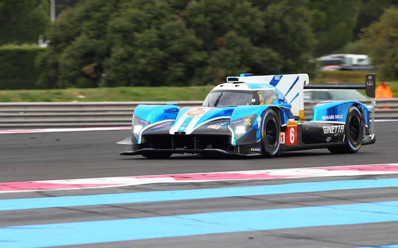#6 CEFC TRSM Racing Ginetta G60-LT-P1 at the Official Prologue for the 2018 FIA World Endurance Championship