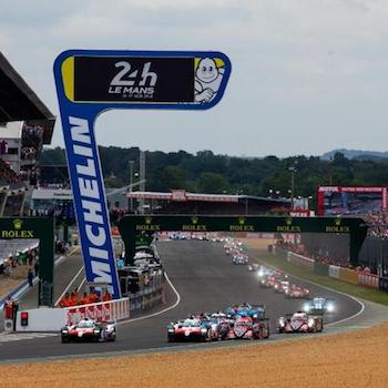 Statistics: The cars leave the line for the start of the 2018 24 Hours of Le Mans