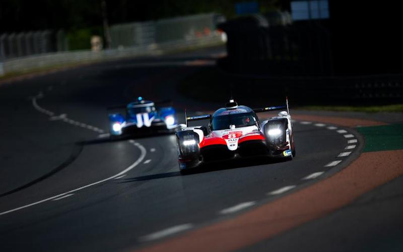 Le Mans: #8 Toyota TS050 Hybrid at the 24 Hours of Le Mans 2018