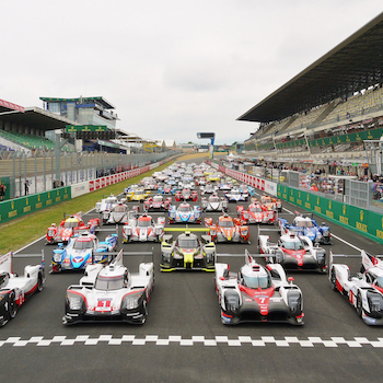 The 24 Hours of Le Mans begins