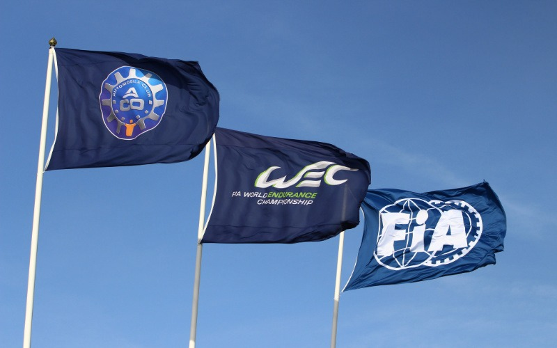 Calendar: WEC, ACO and FIA flags in the wind