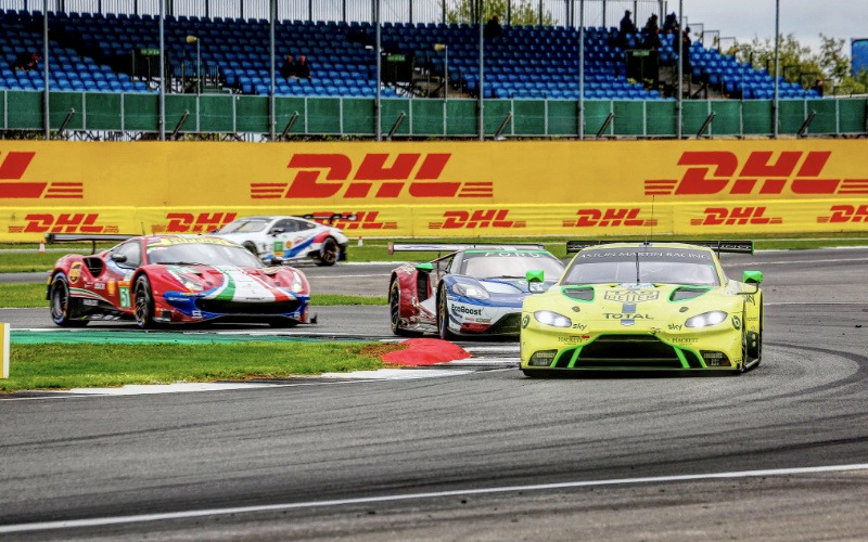 Aston Martin, Ferrari and Ford battle in GTE Pro at the 6 Hours of Silverstone