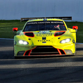 Aston Martin takes class pole at the Six Hours of Fuji