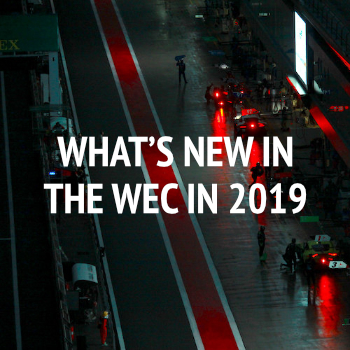 What's new in the WEC in 2019