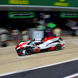 Toyota took victory at the Six Hours of Fuji