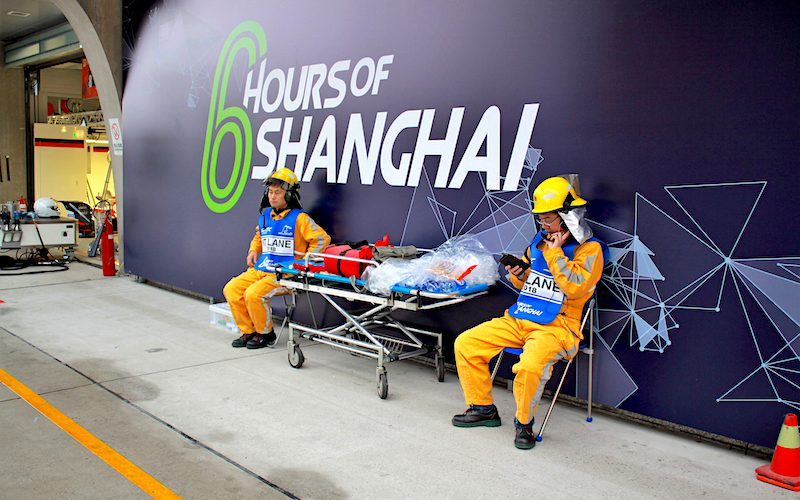 In 2019 the 6 Hours of Shanghai will be shorted to four hours
