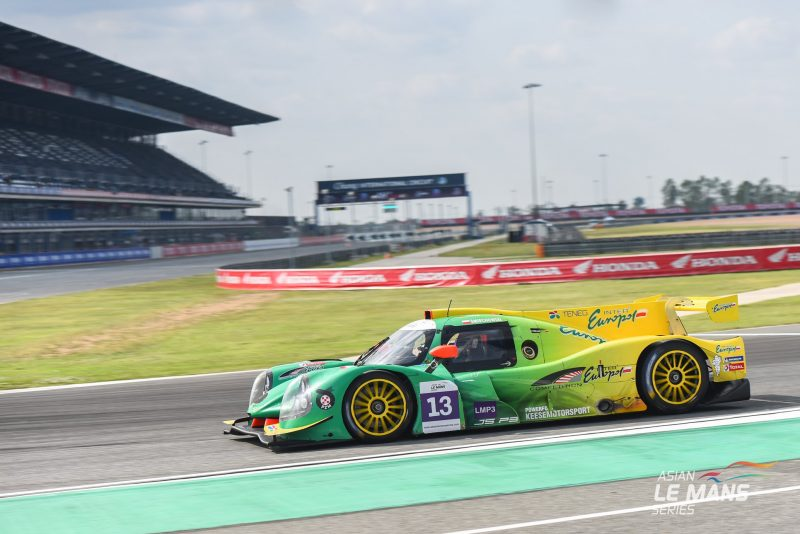 Interpol Competition Ligier JS P3 at the Buriram International Circuit, Thailand