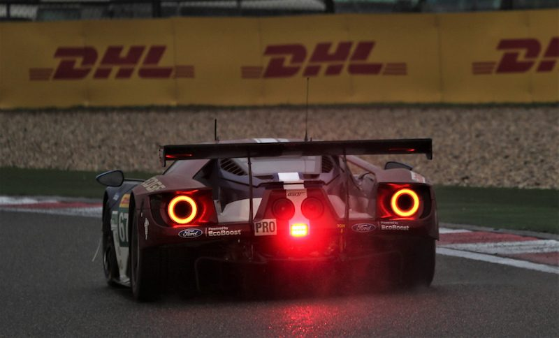 Ford GT in GTE Pro at the 6 Hours of Shanghai in the 2018 FIA WEC