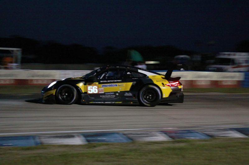 Sebring FP2: Ford GT during free practice 2 at the 1000 Miles of Sebring, Sebring International Raceway