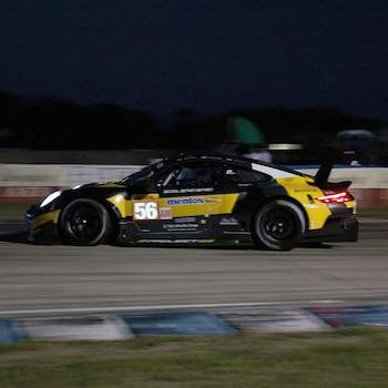 Sebring FP2: Lap times fall in night practice