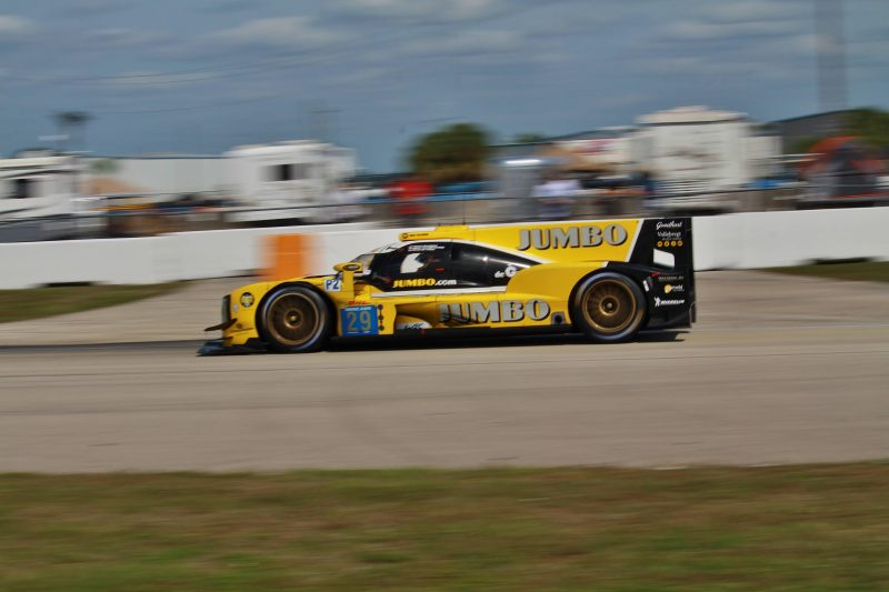 Sebring FP3: Racing Team Nederland at the Sebring International Raceway