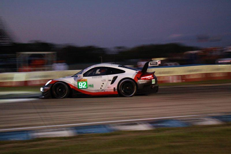 Sebring qualifying: #92 Porsche 911 RSR