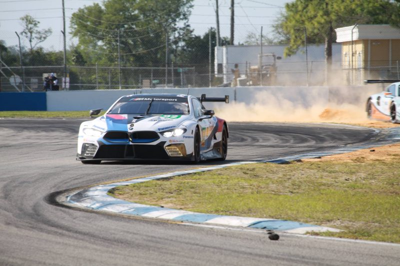 BMW M8 GTE at the 1000 Miles of Sebring