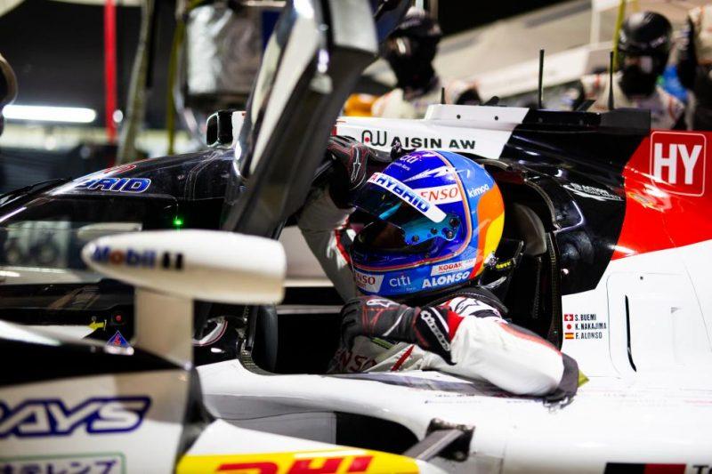 Sebring qualifying: #8 Toyota TS050