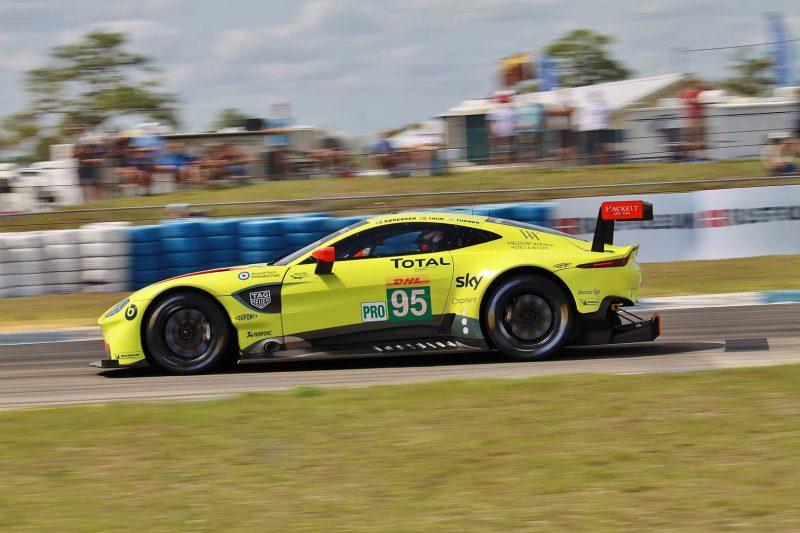 Sebring FP1: Aston Martin Racing