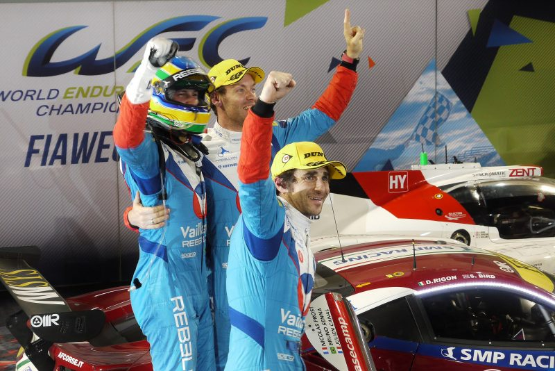 Champions: Bruno Senna and Julien Canal in 2017