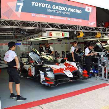 Toyota on lap-record pace in Sebring FP1