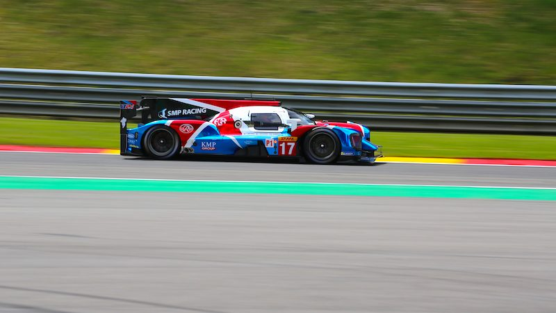 #17 SMP Racing in FP1 at Spa-Francorchamps