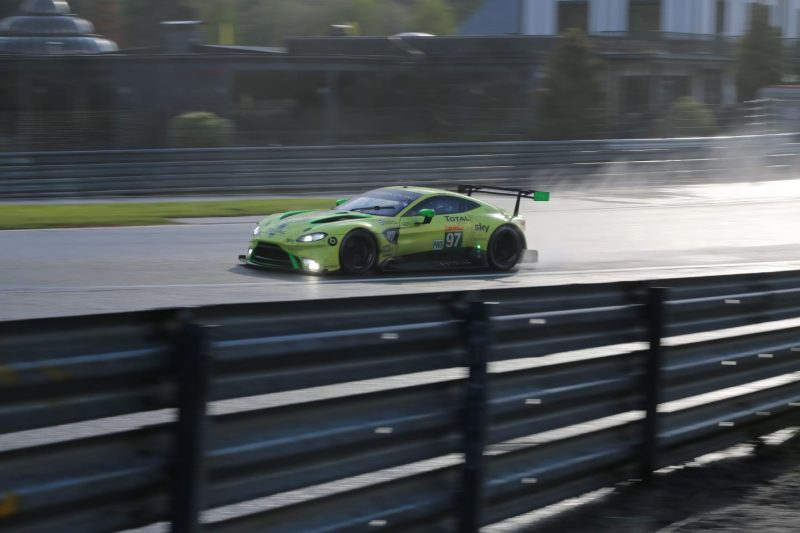 #97 Aston Martin Vantage at the 2019 Six Hours of Spa