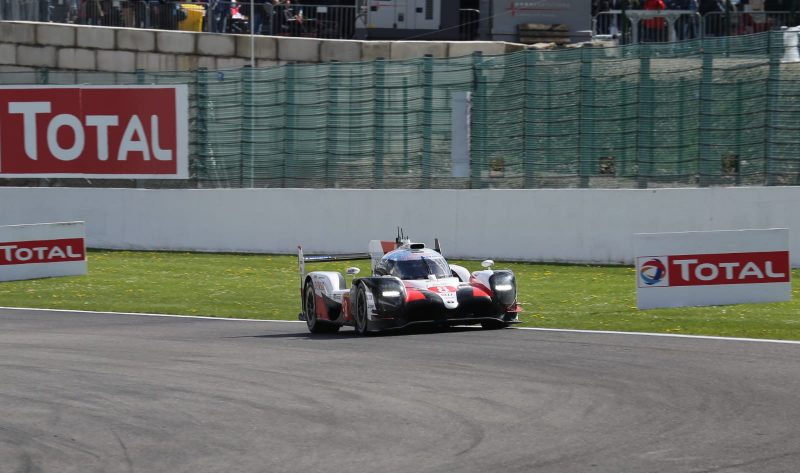 #8 Toyota TS050 Hybrid at the 2019 Six Hours of Spa