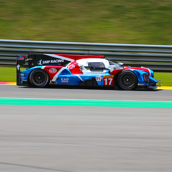 SMP Racing at the first Free Practice in Spa
