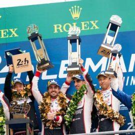 Alonso, Buemi & Nakajima win the FIA WEC World Championship