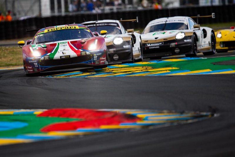GTE Pro battle at the 2019 24 Hours of Le Mans