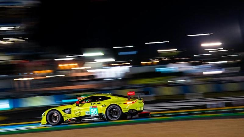 Aston Martin takes pole at Le Mans 2019