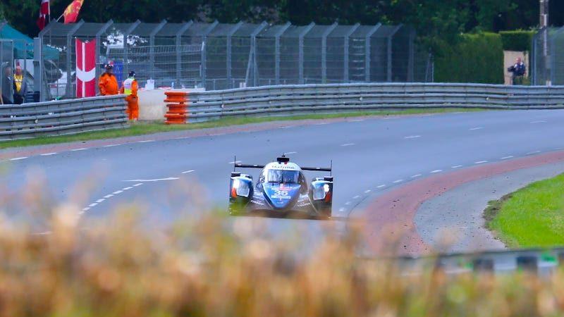 The #36 Signatech Alpine Matmut Alpine A470 took the LMP2 win