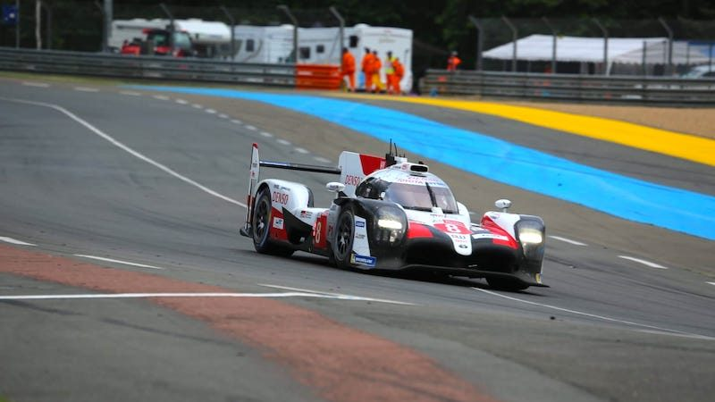 The #8 Toyota only led the 2019 Le Mans 24 Hours for around 90 minutes
