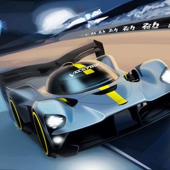 Aston Martin Valkyrie render