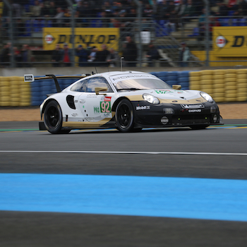 Porsche #92 in FP1 at the 2019 24 Hours of Le Mans