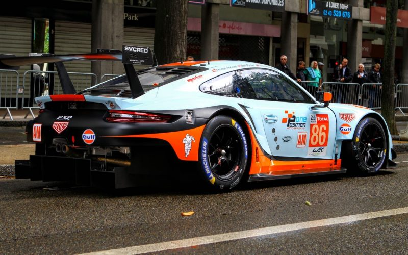 Gulf Racing in Le Mans 2019