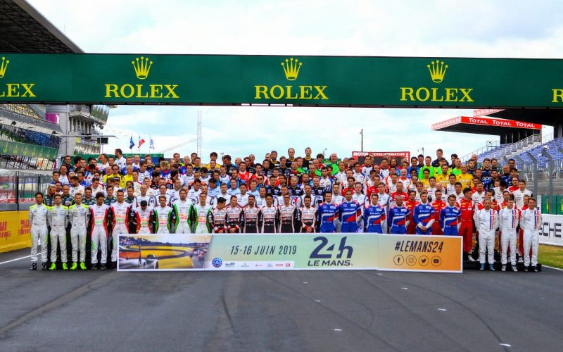 The drivers at Le Mans 2019