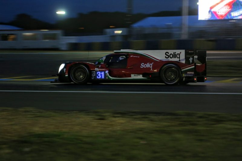 #31 DragonSpeed Oreca 07, Q1, 2019 24 Hours of Le Mans