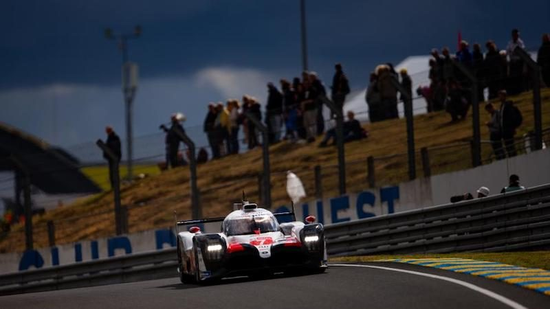 Toyota in Le Mans 2019
