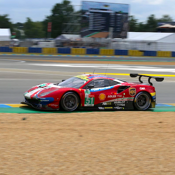 Ferrari victorious in GTE Pro at Le Mans