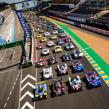 Teams face Test Day heat at Le Mans