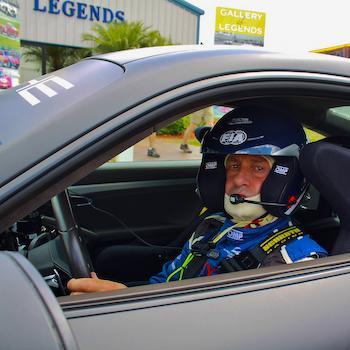 Safety Car driver Yannick Dalmas